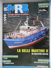 MRB - Modèle Réduit de Bateau #599 (REVUE)  Belle Martine II - Le Chat - Volans