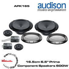 "Audison APK165 - 16.5cm 6.5"" Prima Component Speakers 600 Watts Total Power"