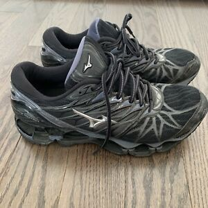 Mizuno Wave Prophecy 7 Running Shoe Men's Size 9 Black