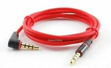 46in 3.5mm (1/8) 4 pole, 3 ring TRRS right angle Male to Male Cable (AV-1404R)