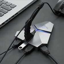 HC320 3 Ports USB 3.0 Combo TF Card Reader HUB Splitter Box Adadpter for Laptop