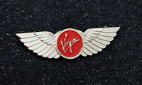 WINGS VIRGIN ATLANTIC AIRWAYS Wing Pin Silver 60mm / 2.4in