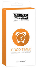 12 Préservatifs retardant Good Timer - Secura