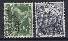 BERLIN 1950. RE-ESTABLISHMENT OF BERLIN PHILHARMONIC ORC. SG B72-73. SET 2 USED.