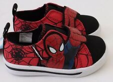 Exclusive Marvel Spider-Man Black/Red Sneakers Shoes Keds Boys Size 7 Medium NWT