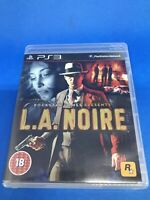 PS3 L.A NOIRE (PlayStation 3 ) Video Game COMPLETE WITH MANUAL VGC Free UK POST