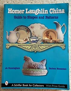 Homer Laughlin China Guide To Shapes & Patterns Collector Book