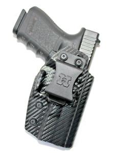 Premium IWB Kydex Gun Holster for Glock 17/22/31 with Soft Suede Inner Lining