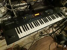 Roland Juno-D 61 Key Synth Keyboard w/ NEW KEY CONTACTS / power adapter see info