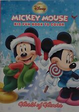 New Mickey Mouse Christmas Coloring Book ~ World of Wonder