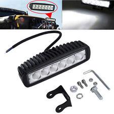 Car Truck 18W LED Work Light Bar Reversing Spot Lamp Jeep Boat 4WD 12V 24V SM