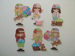 3D-U Pick-BD6 Birthday Boy Girl Cake Balloons Scrapbook Paper Card Embellishment
