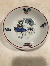 Shenango Nursery Rhyme Little Miss Muffet Small Bowl