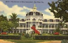 1949 KEY WEST FL Convent of Mary Immaculate postcard