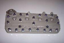 "Flathead Ford V8 cylinder head chrome acorn nut covers, set of 50, 11/16"""