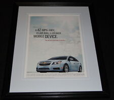 2015 Chevrolet Chevy Cruze Eco 11x14 Framed ORIGINAL Vintage Advertisement