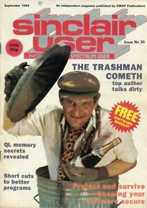 D208936 Sinclair User Vintage Computer Magazine September 1984 Issue No. 30