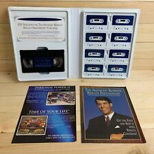 Anthony Robbins Get The Edge Cassette Tapes/VHS Tape 7 Day Program Life Coach