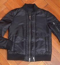 AllSaints Men's Ink BELLEVUE Bomber Jacket Small