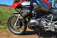 Rockfox Crashbar System - 2013+ BMW R1200GS LC GSW GS Liquid Cooled - Black