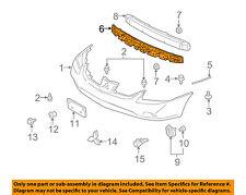 MITSUBISHI OEM 04-12 Galant Bumper Face-Foam Impact Absorber Bar MR598689