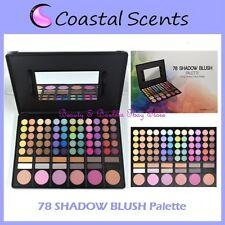 NEW Coastal Scents 78 Eye Shadow & Blush Palette FREE SHIPPING Makeup Powder NIB