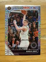 2019-20 NBA Hoops Premium Stock Nikola Jokic Silver Mojo