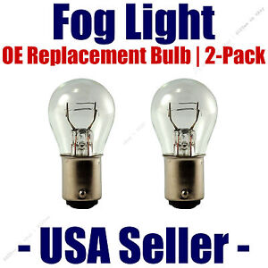 Fog Light Bulb 2pk OE Replacement - Fits Listed Mercedes-Benz Vehicles 7225