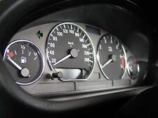 BMW E46 3er TACHORINGE IN CHROM   snap in   NUR EIN CLIPSEN