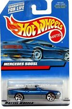 2000 Hot Wheels #134 Mercedes-Benz 500SL grey base