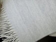 COUVERTURE double-face avec laine cachemire, Couvre-lit 135x170 cm 100% laine