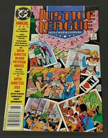 "(1) 1989 DC Comics, Annual #3 JULY ""Justice League International"""