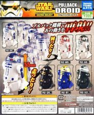STAR WARS - Pullback DROID - Gashapon - COMPLETE SET - NEW - Takara Tomy ARTS