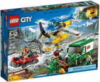 LEGO City Mountain River Heist 2018 (60175) Building Kit 387 Pcs