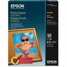 """Epson S041649 Glossy Inkjet Print Photo Paper Letter 8 1/2"""" x 11"""""""