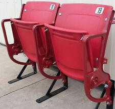 Busch Stadium Seats, Cardinal - 2-leg RISER mount-Refurbished