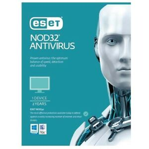 ESET NOD32 Antivirus (Essential Protection), 1 Device 2 Years PC ESD only OEM