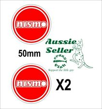 Nismo Stickers Two (2) 50 Mm Round Each