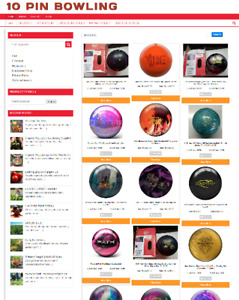 10 PIN BOWLING WEBSITE WITH 1 YEARS HOSTING - FULLY STOCKED - HOME BUSINESS