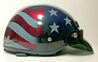 U.S.A. American FLAG AGV HARLEY DAVIDSON Half Helmet DJ HD Size XXS 53