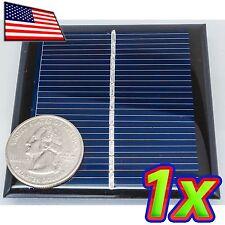 0.6W Solar Panel - 6V / 90mA - 65 x 65 mm - Epoxy Coated - Polycrystalline