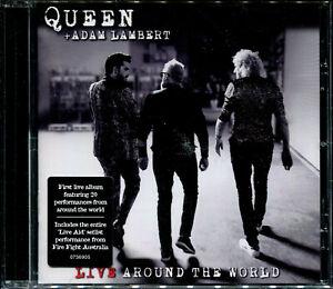 Queen + Adam Lambert Live Around The World CD NEW
