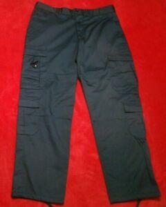 Rothco Uniform Men's Size Large Official EMT Cargo Work Navy Tactical Trouser