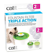 @ Catit Triple Action Filter X3 for Flower Water Fountain Cat Dog Bird