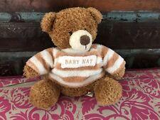DOUDOU OURS Marron T Shirt Raye 16 Cm BABY NAT (babynat) TBE !