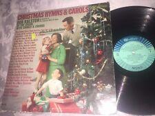 BOB RALSTON  CHRISTMAS HYMNS & CAROLS - VINTAGE CAMDEN RECORDS LP