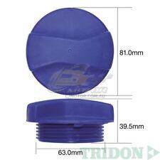 TRIDON RADIATOR CAP FOR Volkswagen Polo 1.4 07/02-09/03 4 1.4L BBY DOHC 16V