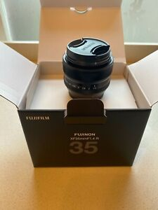 Fujifilm Fujinon XF 35mm f/1.4 R Lens in mint condition. Used once