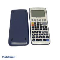 🍊 Casio FX-9750GII Graphing Calculator White-good condition GRAY EUC N0
