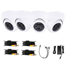 Lot4 1300TVL 24 6mm Waterproof HD IR Night Vision Security Camera + 60ft Cables